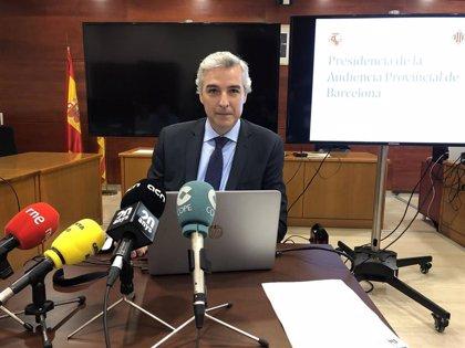 La Audiencia de Barcelona pide 57 órganos judiciales más para cubrir las causas en la provincia