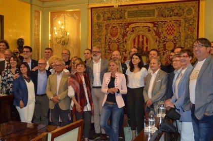 """Larrosa (PSC) pide a Pueyo (ERC) talante para """"grandes acuerdos"""" cuando sea alcalde de Lleida"""