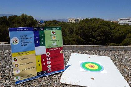 La Universidad de Málaga promueve 'UVI-LISCO', un proyecto para saber cuándo usar fotoprotección en función de la sombra