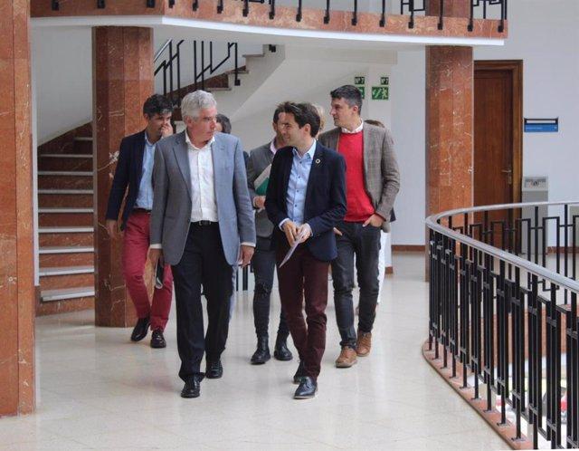 """Santander.- PSOE y PRC constatan su """"sintonía"""" e insisten a Cs con el cambio: """"es imprescindible y un imperativo"""""""