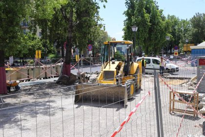 En marcha las obras del entorno de San Martín de Porres, que priorizará al peatón y la accesibilidad