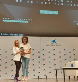 LIBERA, la iniciativa conjunta de concienciación ambiental de Ecoembes y SEO/BirdLife, ganador del Educafestival