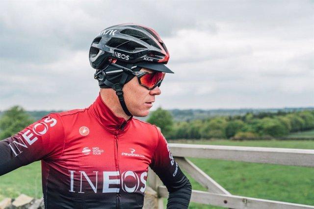Ciclisme.- Froome abandona el Dauphiné Vaig alliberar després de sofrir una caiguda en el reconeixement de la crono