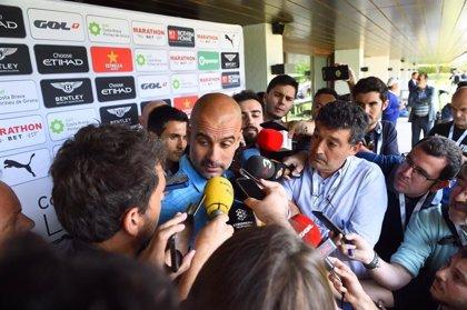 """Guardiola: """"Hazard es muy bueno, os vais a divertir mucho"""""""