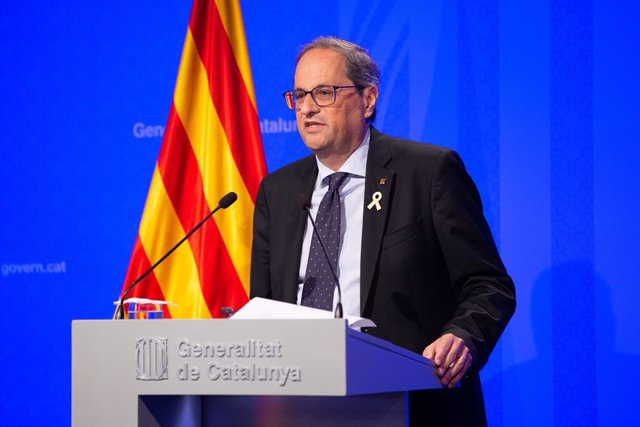 """Torra reivindica haver reactivat Catalunya i la veu """"a punt per viure en llibertat"""""""