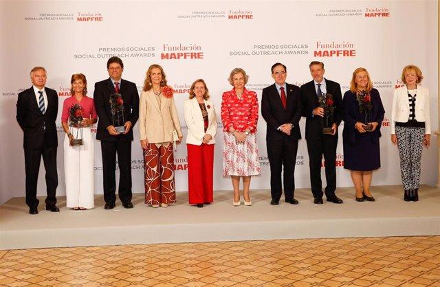 Emilio Aragón y tres proyectos solidarios internacionales, Premios Fundación MAPFRE 2019