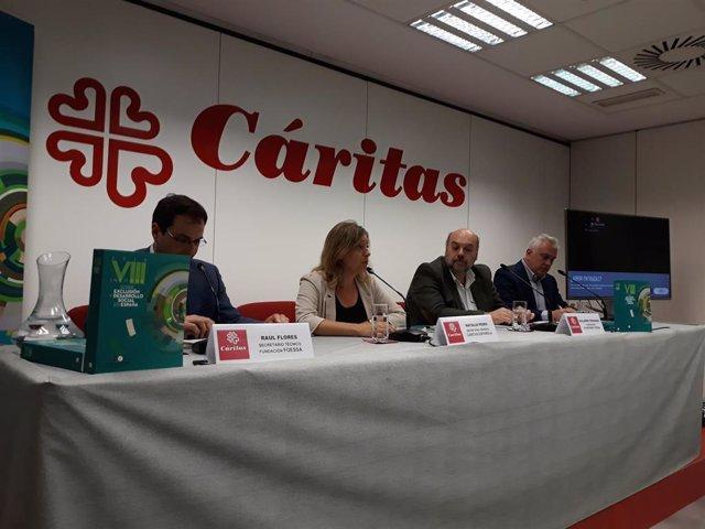 Más de 2 millones de personas en España viven con la incertidumbre de quedarse sin vivienda, según Cáritas