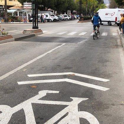 Fuengirola inicia el programa de movilidad con la creación de las primeras ciclocalles