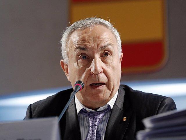 Alejandro Blanco en la Asamblea del COE