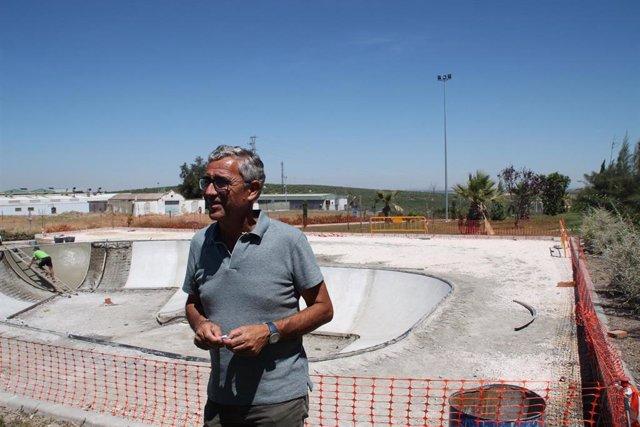 Sevilla.- Supera.- A punto de concluir la primera fase del proyecto de skatepark de Morón de la Frontera