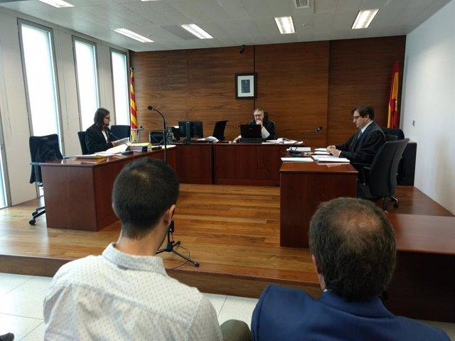Juicio contra Deliveroo en Barcelona
