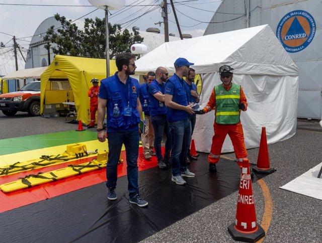 Córdoba.- El Infoca colabora con Guatemala para combatir los incendios que sufre el país en los últimos meses