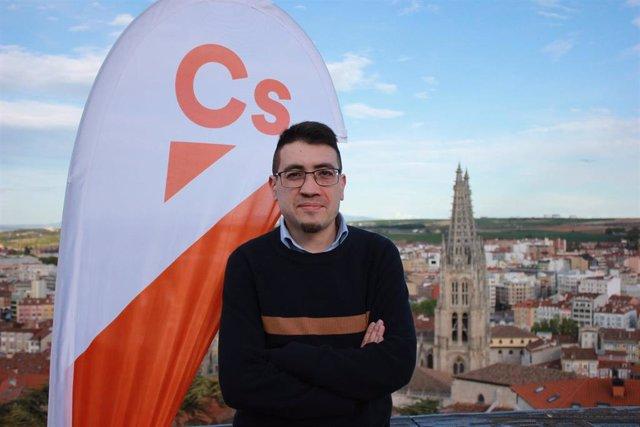 """Javier López renuncia """"por problemas de salud"""" a su acta de concejal por Cs en el Ayuntamiento de Burgos"""