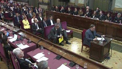 El juicio al 'procés' queda visto para sentencia, tras cuatro meses y 52 sesiones