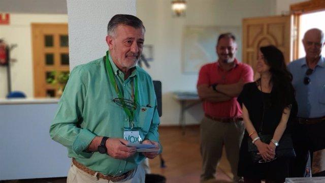 """Málaga.- 26M.- Lara dice que es una """"jornada histórica"""" para Vox, que por primera vez """"va a estar en administraciones"""""""