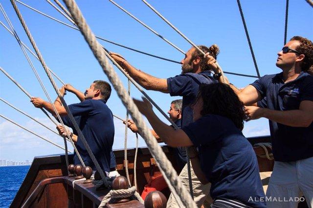 Sevilla.- La Fundación Nao Victoria busca voluntarios para las tripulaciones de sus barcos museo