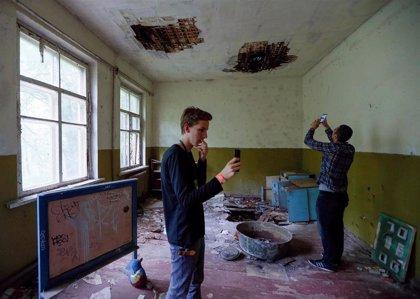 Críticas a los turistas en la zona de exclusión de Chernóbil por una serie de 'selfies' inapropiados