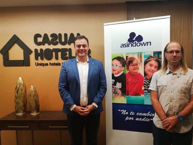 CASUAL HOTELES Y ASINDOWN FIRMAN UN ACUERDO DE COLABORACIÓN PARA PROMOVER LA INSERCIÓN LABORAL DE LAS PERSONAS