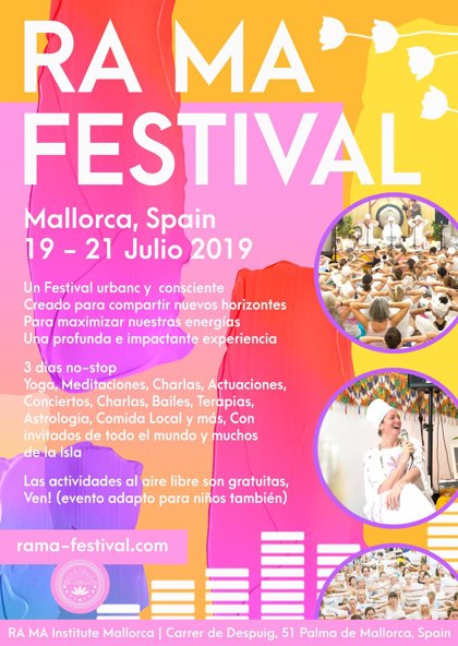 Palma acoge en julio la segunda edición del RA MA Festival de Kundalini Yoga
