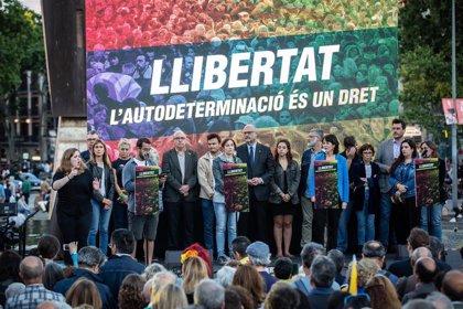 """Entidades y partidos soberanistas piden unidad para frenar la """"represión"""" tras el juicio del 'procés'"""