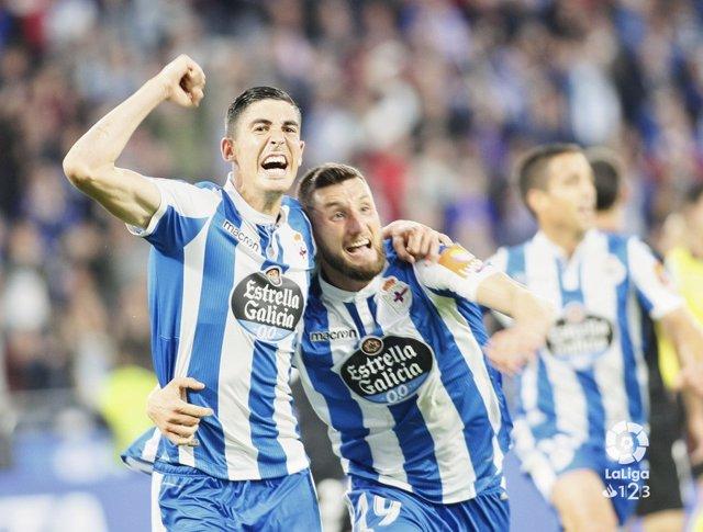 Fútbol/Liga 123.- Crónica del Deportivo de La Coruña - Málaga, 4-2