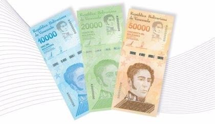 Venezuela pondrá en circulación tres nuevos tipos de billetes ante la hiperinflación en el país