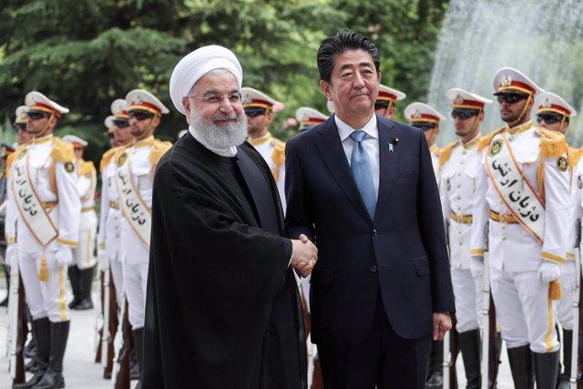 Japanese Prime Minister Shinzo Abe in Iran