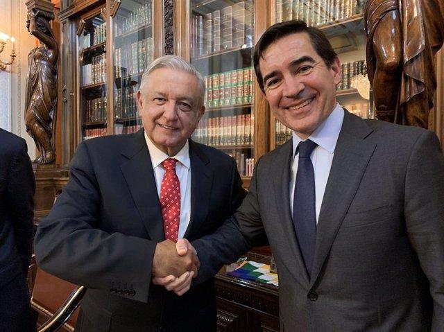 Economía.- BBVA prevé invertir 2.900 millones de euros en México en los próximos seis años