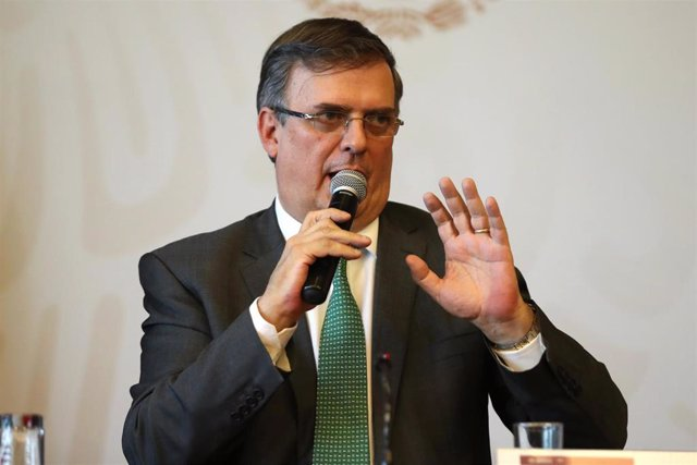 Mexican Foreign Minister press conference in Mexico City