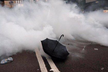 Las autoridades de Hong Kong cierran las oficinas gubernamentales debido a las protestas