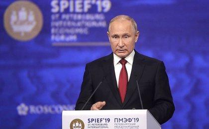 Putin descarta la intromisión de Rusia en la guerra comercial entre China y EEUU