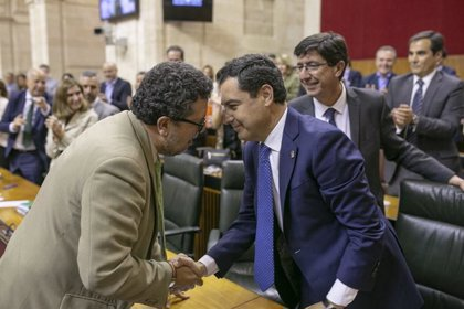 """Moreno, tras el acuerdo presupuestario con Vox: """"Bien está lo que bien acaba"""""""