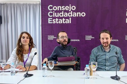 Echenique reitera que el acuerdo en Valencia es el modelo para que Podemos esté en el Gobierno de Sánchez