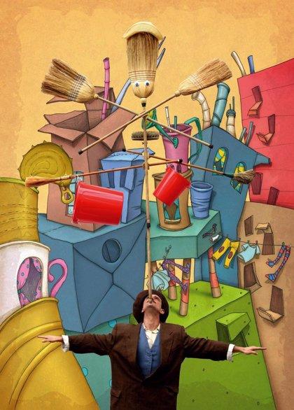 EnREDarte ofrece espectáculos de magia, circo y música en cinco localidades