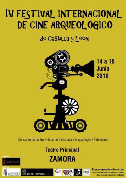 Cuatro cintas compiten por el galardón del IV Festival de Cine Arqueológico de Castilla y León
