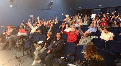 VTLP inicia con la votación online la consulta sobre la posición de sus concejales en la investidura este sábado