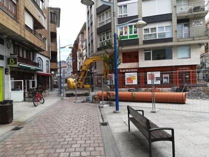 Malestar de hosteleros y comerciantes de Alfonso XII por las obras de saneamiento
