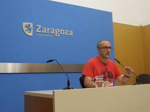 """Zaragoza.- ZeC vanza que """"no apoyará"""" a ninguno de los tres candidatos previsibles a la Alcaldía"""