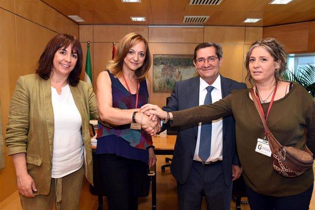 Granada.- Diputación renueva su apoyo a programa 'Vacaciones en Paz', que beneficiará este verano a 113 niños saharauis