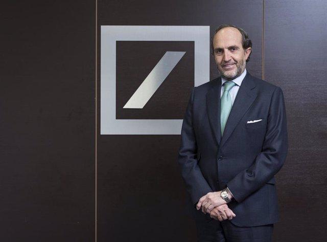 Economía/Finanzas.- Ignacio Pommarez, nuevo subdirector general y director del Área Oeste de Deutsche Bank España
