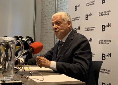 El Gremi d'Hotels de Barcelona demana millorar la seguretat, el civisme, i atreure més congressos (EUROPA PRESS)