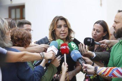 """Susana Díaz: El Gobierno andaluz está """"sometido"""" a Vox y Cs """"se ha rendido"""" al partido de Abascal"""