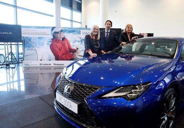 Rueda de prensa de Lexus Madrid sobre su participación en la WoW Challenge 2019