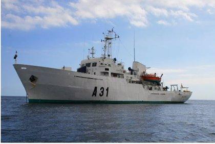 El buque de la Armada 'Malaspina' realiza una campaña hidrográfica en aguas costeras de Asturias
