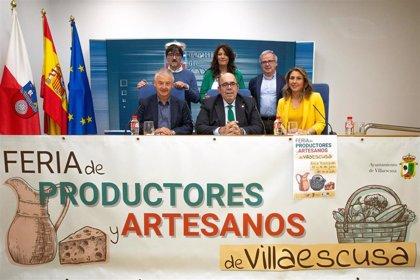 """Villaescusa acoge la I Feria de Productores y Artesanos, """"embrión"""" de un proyecto de mercado semanal"""