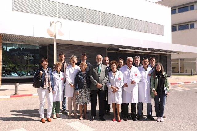 Concluyen las obras del nuevo Centro de Salud Mental de Estella en el Hospital García Orcoyen