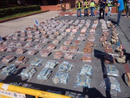 La cocaína requisada en falsas piedras daría para 9,5 millones de dosis, con valor de cientos de millones de €