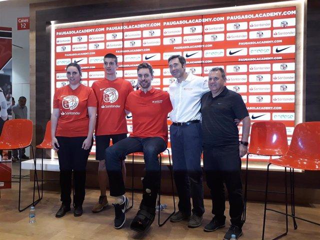 Baloncesto.- Pau Gasol presenta la 15ª edición de su academia sin desvelar sorpresas y con la voluntad de formar talento