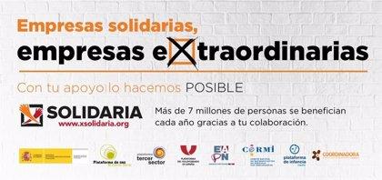 El Tercer Sector apela a quienes no marcaron la X Solidaria porque se dejaron de recaudar 1,3 millones