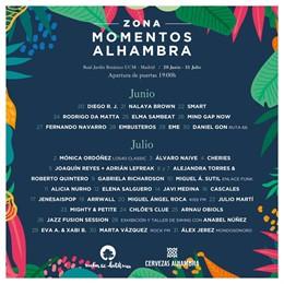 Noches del Botánico anuncia la programación de la Zona Momentos Alhambra y la exposición Mariposas en tu ciudad